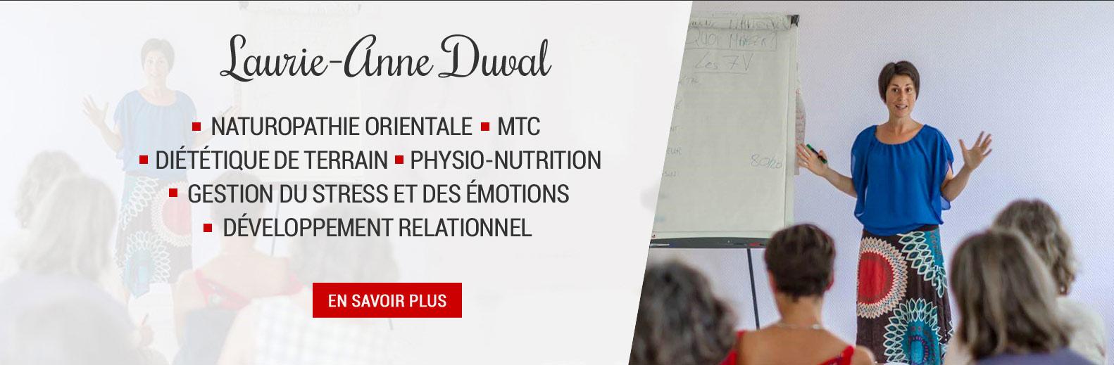 Laurie-Anne DUVAL, naturopathie, santé naturelle